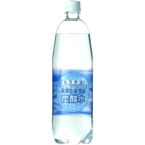木村飲料 海洋ミネラル炭酸水1000ml×12本