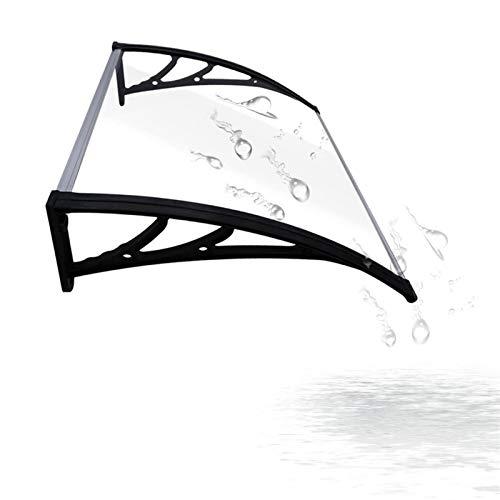 WXQ Jardín al Aire Libre Dosel de Techo Puerta del pabellón, al Aire Libre contra los Rayos UV Ultraligero Bricolaje Sun Refugio Ventana Toldo Anverso Porche Jardín Gazebo Cubierta de la Cortina