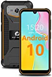Unlocked Phones, Double Sim Card Slot, 13MP+5.0MP AF, 5.71 Inch HD+, Android 10 3GB + 32GB, 4000mAh Big Battery, Cheap 4G Rugged Phones