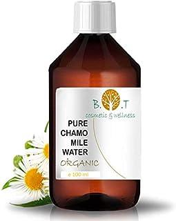 Agua Floral Orgánica de Manzanilla Hidrolato BIO de Camomila Aclarante el aliado de la piel sensible 100 ml - Tónico 100%...