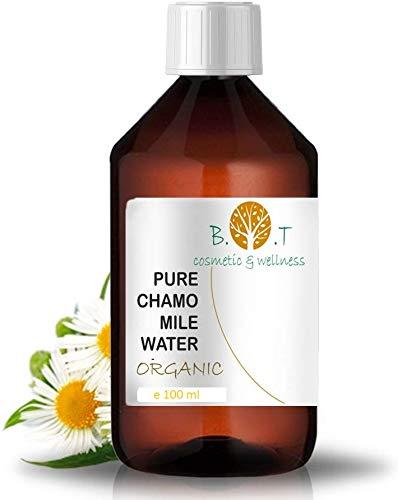 Agua Floral Orgánica de Manzanilla Hidrolato BIO de Camomila Aclarante, el aliado de la piel sensible 100 ml - Tónico 100% Natural