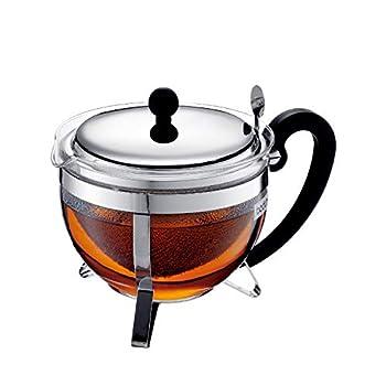 Bodum Chambord Tea Pot 44 oz Chrome