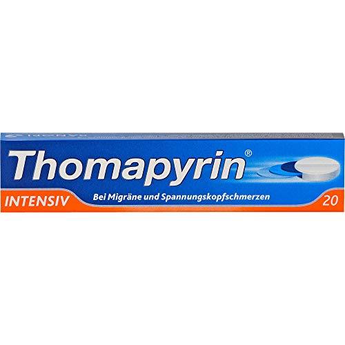 Thomapyrin INTENSIV bei Migräne & Kopfschmerzen 20 stk