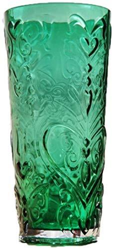 Groen Transparant glazen vaas, Home Decorations zonder bloemen