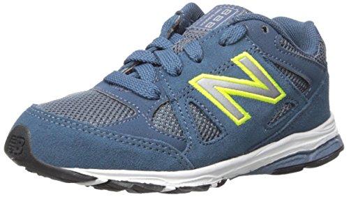 New Balance New Balance KJ888V1 Infant Running Shoe (Infant/Toddler), Blue/Yellow, 18.5 W EU