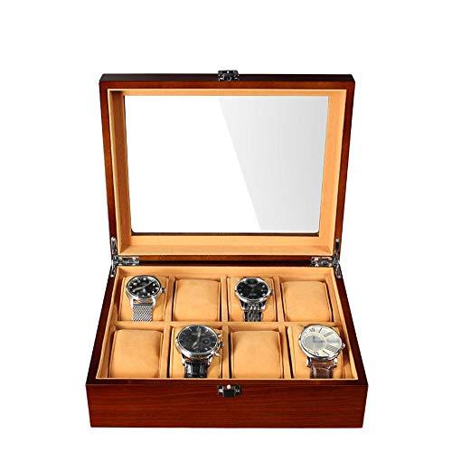 ZFF Uhrenkasten, 8 Slots Holz Uh...