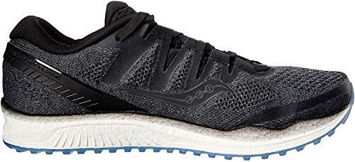 Saucony Freedom ISO 2, Zapatillas de Entrenamiento para Mujer, Negro (Black 001), 37 EU