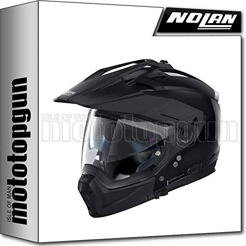 NOLAN CASCO MOTO CROSSOVER N70-2 X SPECIAL METAL NERO 012 TG. XS