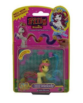 Dracco Filly Royale Prinzessinnen, Pferdchen zum stylen mit bunten Schweif, Melody