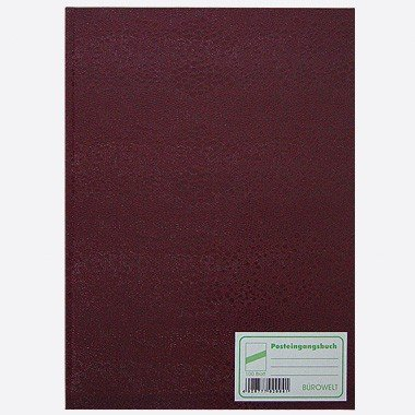 Posteingangsbuch A4 100 Blatt