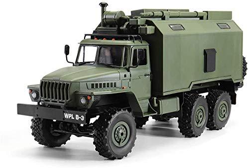 Turtle Story B36 Ural 1/16 Kit 2.4G 6WD RC Coche camión Militar Rock Crawler Sin ESC transmisor del Cargador de batería JXNB