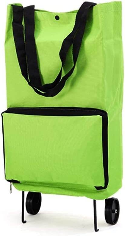 Time sale Shopping Ranking TOP4 Cart Portable Trolley Foldable Bag Wheels with
