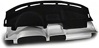 Coverking Custom Fit Dashcovers for Select Nissan Frontier Models - Molded Carpet (Black)