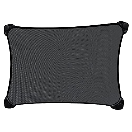 EcoNour Stretch to Fit Car Sun Shade   Stretchable Sun Protector   Blocks UV Rays and Sun Glare   Car Window Shades for Baby   Window Screen Maintains Privacy   Custom Fit Car Side Window Sunshade