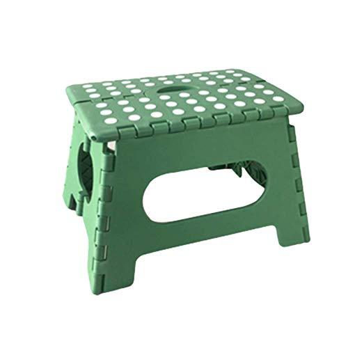 Folding Chairs Tabouret Pliable en Plastique Chaise Portable Petit Tabouret Maza Enfant Adulte extérieur ménage Banc