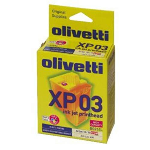 Olivetti Original–Olivetti Artjet 12(xp03/b0261)–Cabezal de impresión (cian, magenta, amarillo)–460páginas