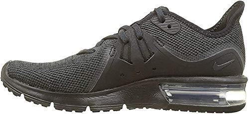 Nike Wmns Air MAX Sequent 3, Zapatillas de Running para Mujer, Negro (Black/Anthracite 010), 38 EU