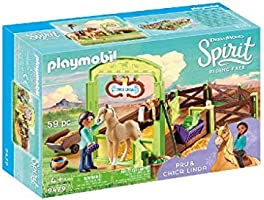 Playmobil 9479 speelgoedpaardenbox PRU & Chica Linda