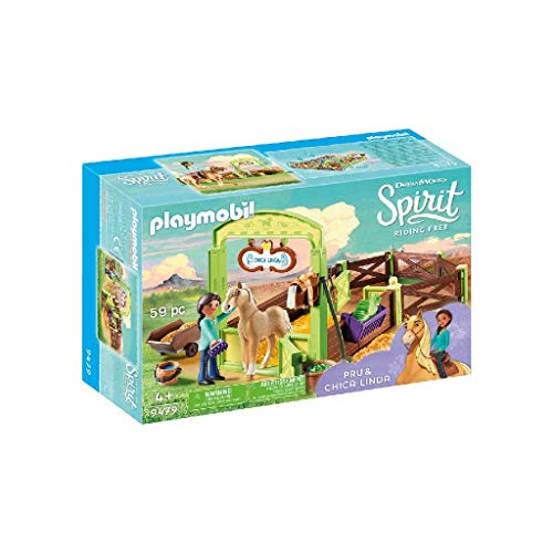 PLAYMOBIL DreamWorks Spirit Establo Pru