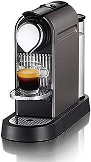 Nespresso Citiz Coffee Machine, Titanium [C110-ME-TI-NE]