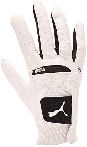 Puma Golf 2017 Women's Flexlite Performance Glove (White/Black, Medium, Right Hand)