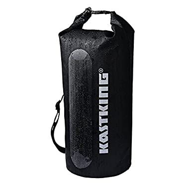KastKing Floating Waterproof Dry Bag 10L/20L/30L, Roll Top Sack Keeps Gear Dry for Kayaking, Swimming, Camping, Hiking, Beach, Fishing, Rafting, Boating