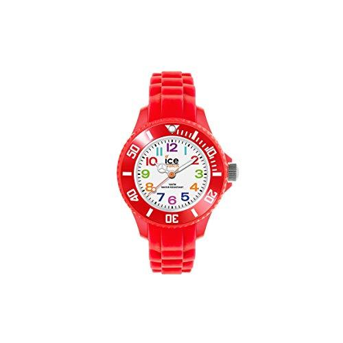 Ice-Watch - Ice Mini Red - Orologio da Bambini, Unisex, con Cinturino in...