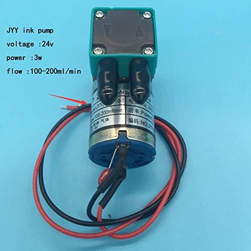 Etase 2 Unids/Lote JYY Bomba de Tinta Peque?A para Galaxy Wit Color Impresora de Plotter Solvente Infiniti Phaeton Humana 3W 24V100-200Ml Bomba de Micro-Tinta: Amazon.es: Electrónica