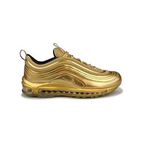 Nike Air Max 97 QS Scarpe da ginnastica in pelle, oro (Oro metallizzato.), 41 EU