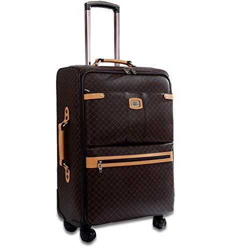 Rioni Medium 25' Spinner Luggage - Signature Brown