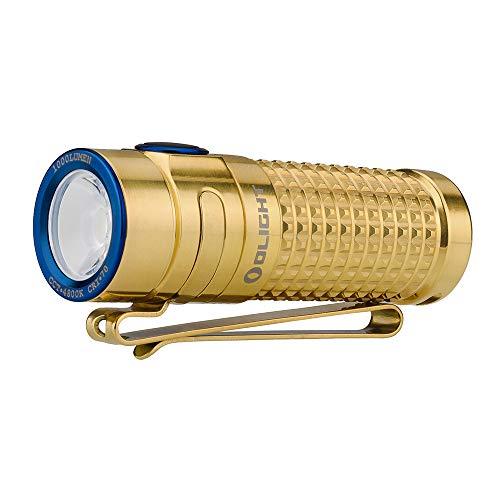 OLIGHT(オーライト) S1R BATON II限定版 チタン/Ti ハンディライト クリスマス 1000ルーメン 充電式 フラッシュライト LED懐中電灯 ハンディライト 電池IMR16340