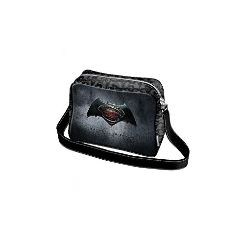 Karactermania Batman V. Superman Dawn Bolso Bandolera, 38 cm, Azul
