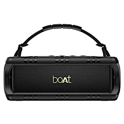 boAt Stone 1400 Mini Portable Wireless Speaker with 18W Sound, Twin EQ Modes, Up to 6H Playback, IPX5 Water & Splash Resistance, TWS Feature, Multiple Connectivity Modes and Carry Strap (Active Black),Imagine Marketing Pvt Ltd,Stone 1400 Mini