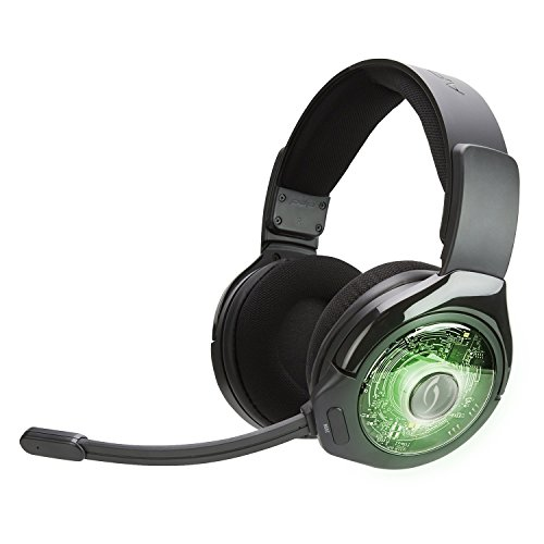 PDP Xbox One Afterglow AG 9+ Prismatic True kabelloses Gaming-Headset 048-056-NA, Schwarz