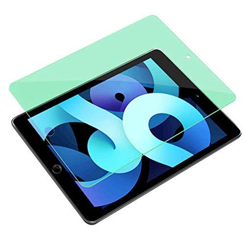 Helikim Protector de Pantalla Compatible con iPad Pro de 10,9 Pulgadas (Modelo 2020), Cristal Templado con Filtro de luz Azul