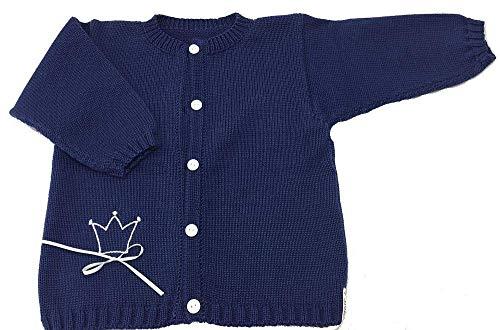 Jacke, Babyjacke, Kinderjacke, maritim, Krone, blau