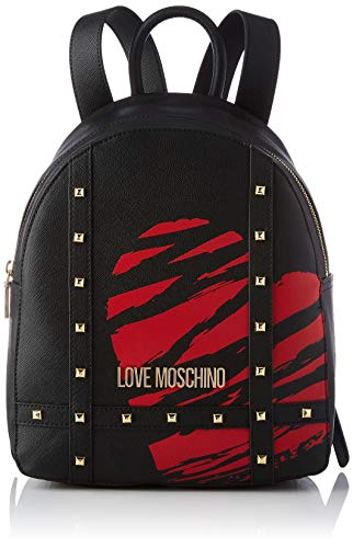 LOVE MOSCHINO Scratched Heart backpack