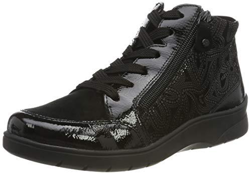 ARA Damen Meran 1241048 Hohe Sneaker, Schwarz (Schwarz 71), 39 EU