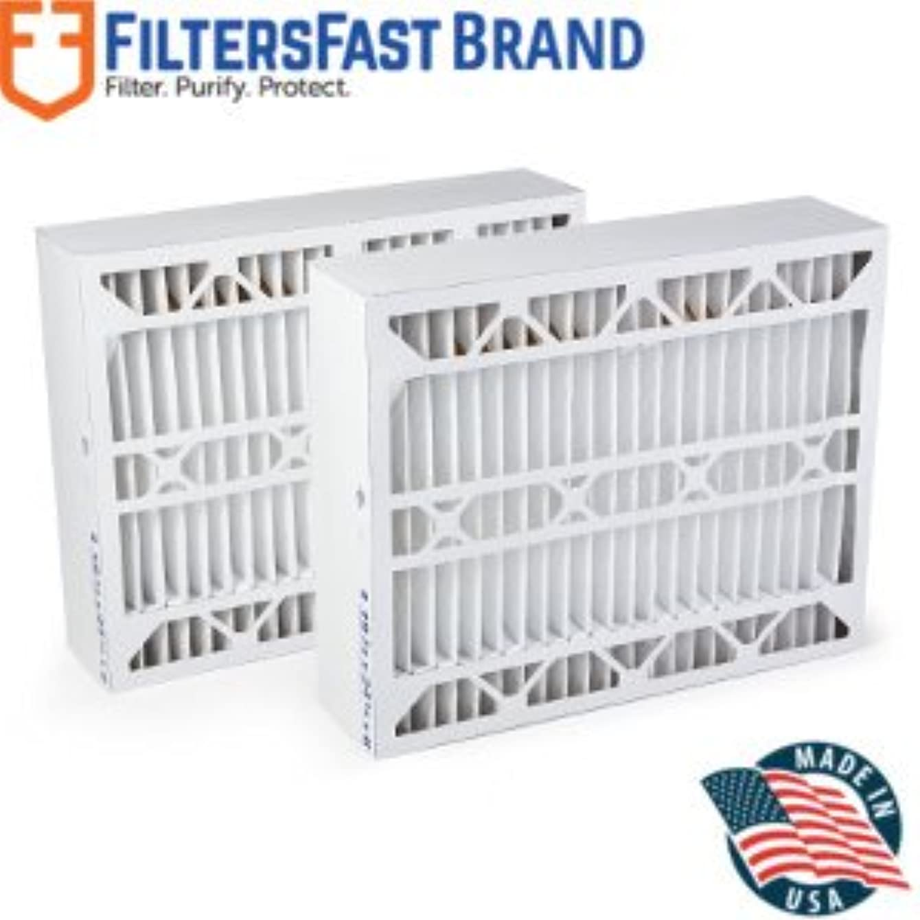 Filters Fast Compatible Replacement for Aprilaire SpaceGard 2400 Air Filter -MERV 13 2-Pack 16