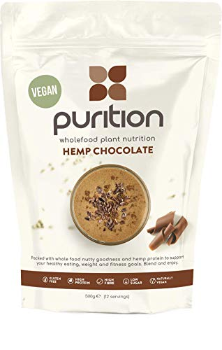 Purition Polvo de Proteína de Chocolate Vegano (500g).