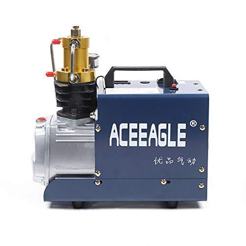 Compresor de aire portátil PCP, 32 MPA 4500 psi, 80 l/min, bomba de alta presión, bomba sumergible, compresor de aire