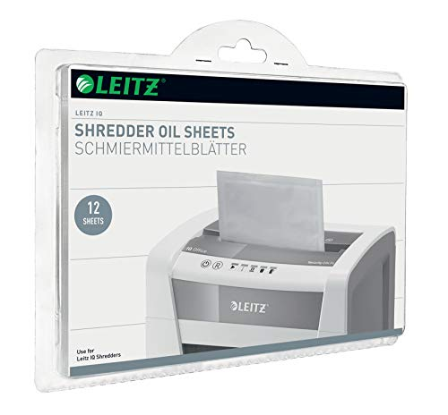 Leitz IQ Ölblätter, Packung mit 12 Stück, für IQ und andere Marken, 80070000
