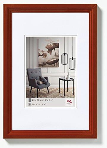 Walther Design Living Cornice, Legno, Marrone (Nocciola), 30 x 40 cm