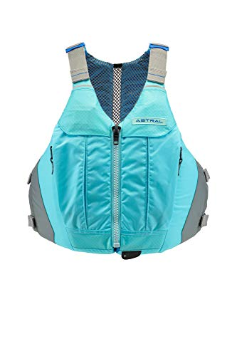 Astral Women's Linda Life Jacket PFD for Recreational Fishing and Touring Kayaking, Clearwater Blue, M/L