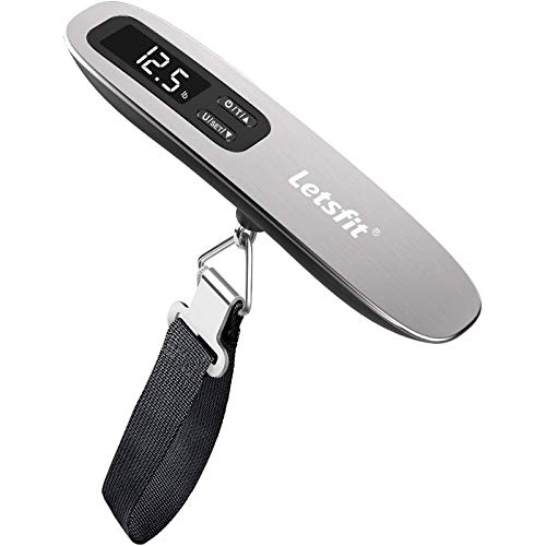 Letsfit Digital Luggage Scale, 110lbs Hanging...