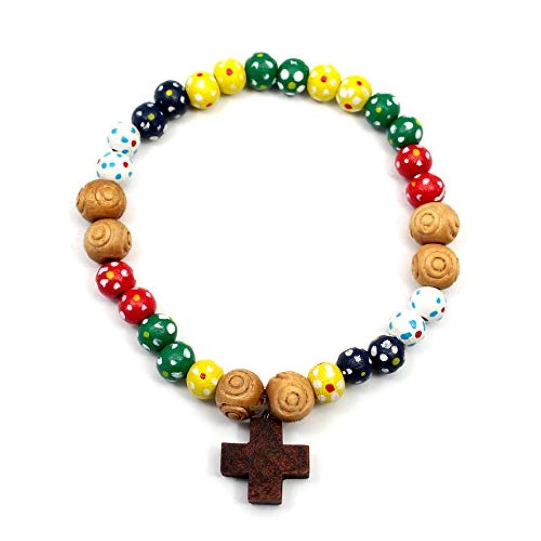RosaryMart Missionary Wooden Beads Bracelet