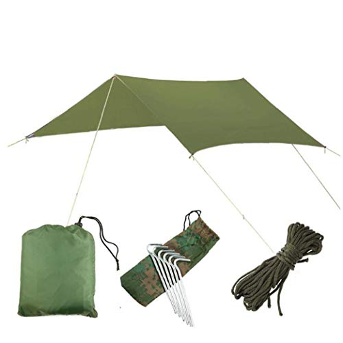 Hammock Rain Fly Waterproof Tent Tarp, UV Protection and Waterproof, Lightweight for Camping, Backpacking and Outdoor Adventure Convenient Supply