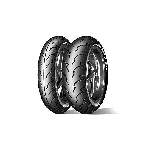 DUNLOP 180/55 ZR18 74W D207-55/55/R18 74W - E/E/71dB - Moto Pneu