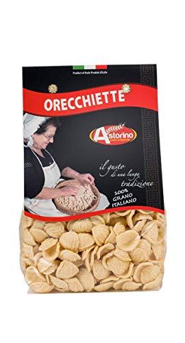 Orecchiette handgemachte Pasta aus Hartweizen aus Kalabrien Astorino 6 Packungen Pasta 500g In Kalabrien mit italienischen Hartweizen hergestellt.