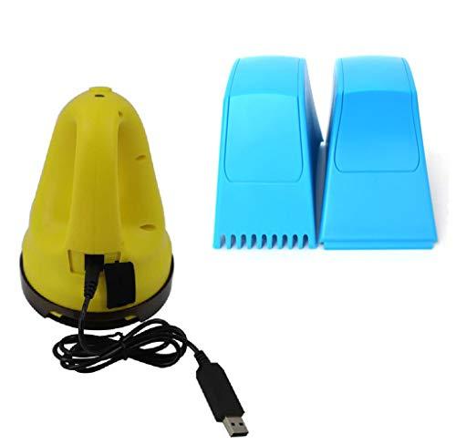 xiaoy Raspador De Nieve Eléctrico con Cable De Carga USB, Deshielo Eléctrico Pala De Nieve, Herramienta De Limpieza para Descongelar El Parabrisas